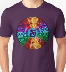 SCI - String Cheese Incident - Rainbow Geometric Mandala - Psychedelic Funkadelic T-Shirt