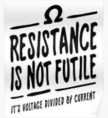Widerstand ist nicht zwecklos Poster