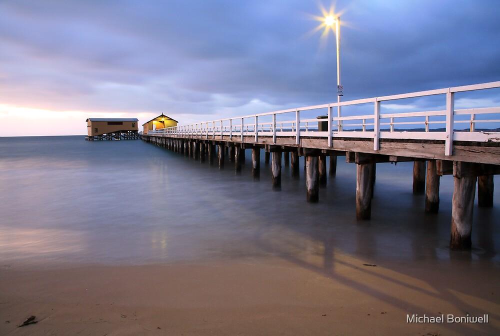 Queenscliff Pier Autumn Dawn, Victoria, Australia by Michael Boniwell