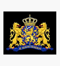Netherlands Coat of Arms Photographic Print