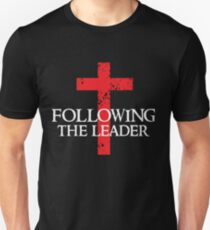 Following The Leader - Cross Christian  T-Shirt
