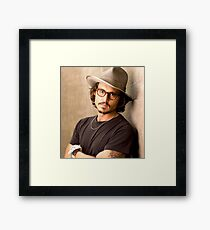 Johnny Depp Framed Print