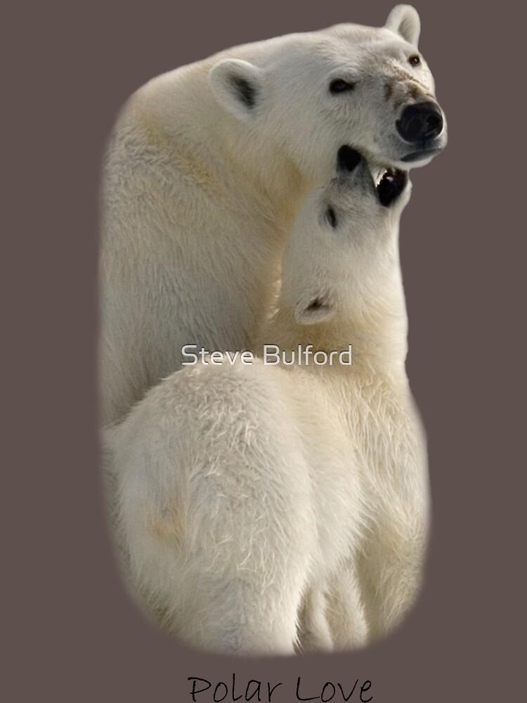 Polar Love - T-Shirt by SteveBulford