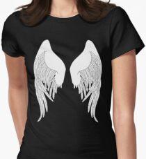 I am an angel Women's Fitted T-Shirt