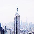 New York City View - Manhattan Cityscape by Neli Dimitrova