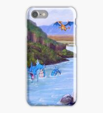Pokemon in the real world iPhone Case/Skin