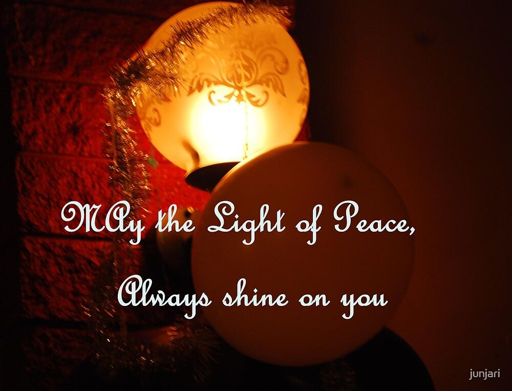 Light of Peace by junjari