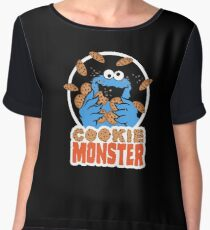 Cookie Monster Chiffon Top
