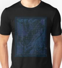 USGS TOPO Map Colorado CO Red Mesa 402598 1913 62500 Inverted T-Shirt