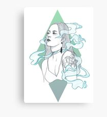 Smoke + Mirrors Canvas Print