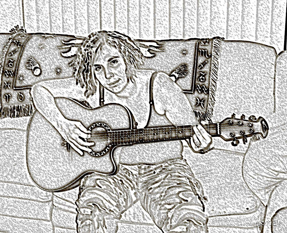 ME AND MY GUITAR by nikki024