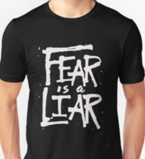Fear is a Liar - Inspirational Christian Unisex T-Shirt