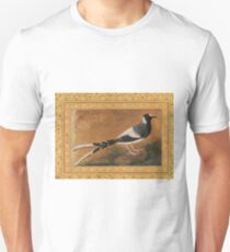 """""""Spotted Forktail"""", Folio from the Shah Jahan Album Painting by Abu'l Hasan Unisex T-Shirt"""