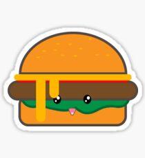 Cute Burger Sticker