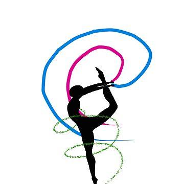 Pride Artwork: Ballerina: Polysexual/Ply Pride by hillyhale