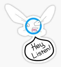 Hey Listen! Sticker