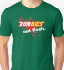 Zombies Eat Flesh Blood Variant T-Shirt