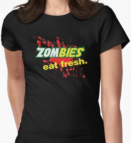 Zombies essen frische Variante T-Shirt