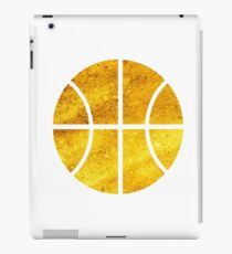 Golden Basketball iPad Case/Skin