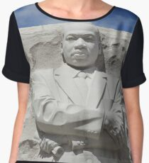 Martin Luther King Stone of Hope Chiffon Top