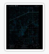 USGS TOPO Map Colorado CO Omar 233992 1951 24000 Inverted Sticker