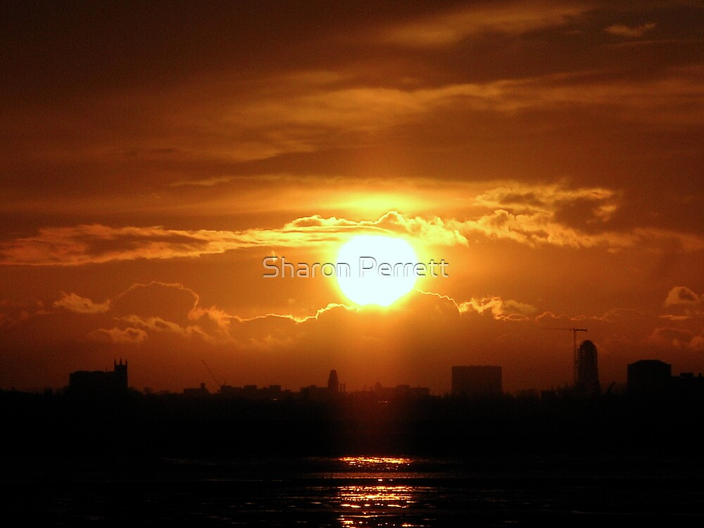 Sunset 1 07-12-07 by Sharon Perrett