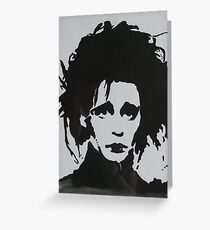Edward Scissorhands Greeting Card