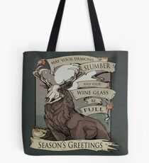 May your demons Tote/pillow Tote Bag