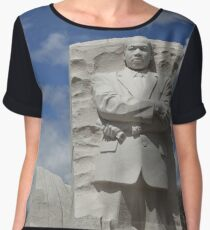 Martin Luther King Jr. Memorial Chiffon Top