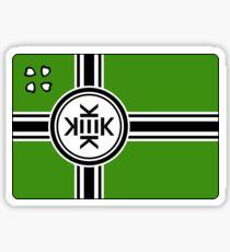 Official flag of Kekistan Sticker