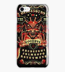 Spirit Board, Lowbrow Punk ,Devil, skulls, Gothic, Skeleton, Bones,evil, occult, pagan,  iPhone Case/Skin
