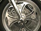 Steel Wheel by Bernadette Claffey