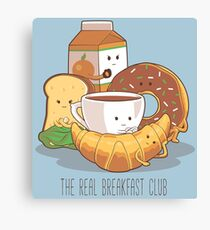 The Real Breakfast Club Canvas Print
