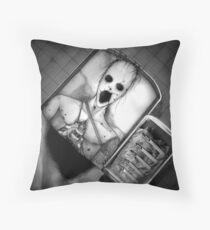 Autopsy Throw Pillow