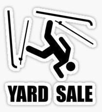 Ski Yard Sale Sticker