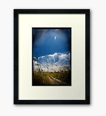 field of Vision Framed Print
