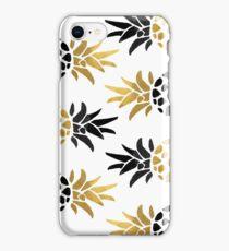 Piñas  oro iPhone Case/Skin