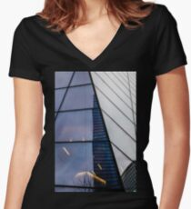 World Trade Centre Women's Fitted V-Neck T-Shirt
