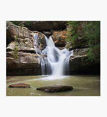 Cedar Falls, Hocking Hills State Park, Ohio Photographic Print