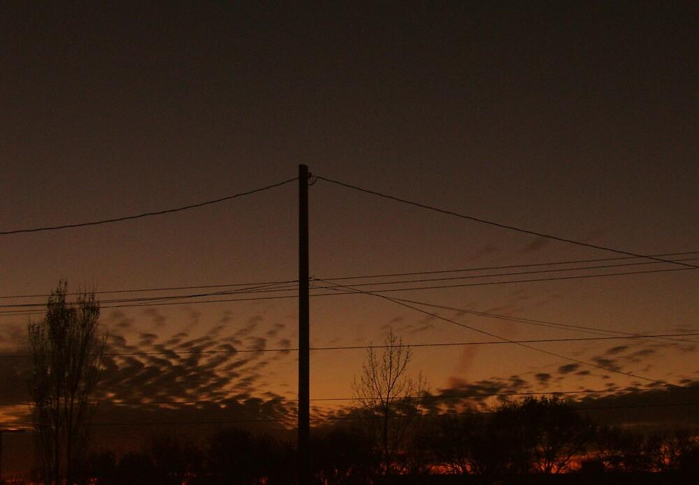 beauty in a sunset by kristal ingersoll