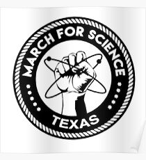 March for science astronaut Poster