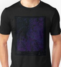 USGS TOPO Map Colorado CO Bear Creek 400335 1969 24000 Inverted T-Shirt