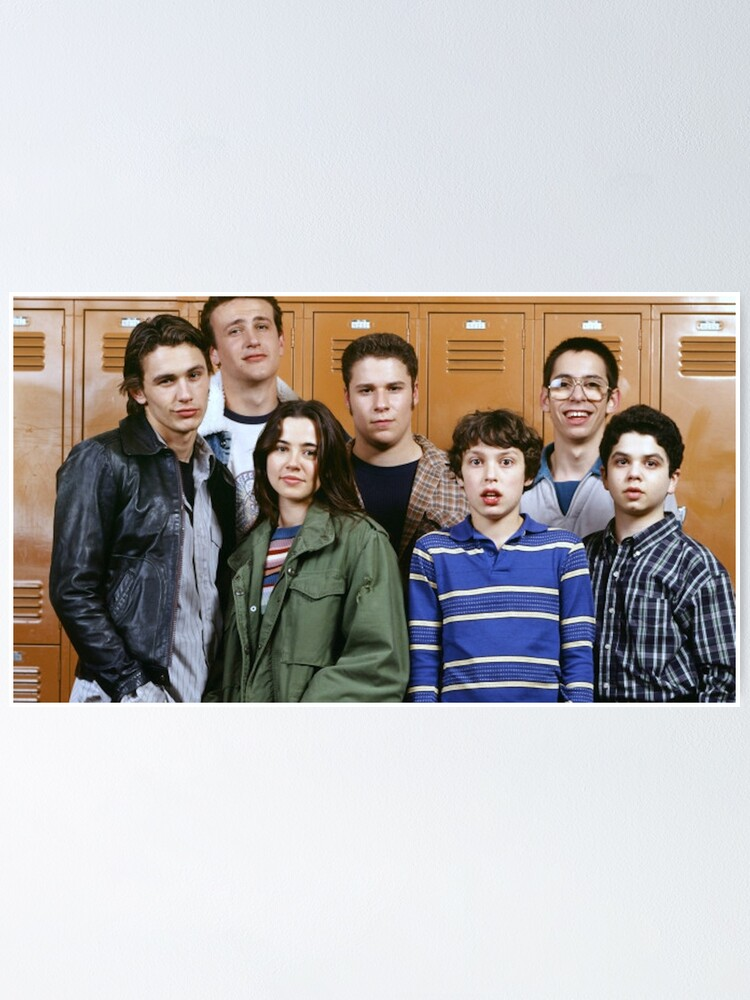 Alternate view of Freaks and Geeks poster Poster