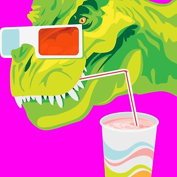 Amy the Milkshake T-Rex by kempster