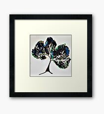 Ink Tree Framed Print