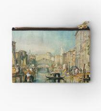 The Rialto, Venice, J M W Turner 1820-1 Studio Pouch