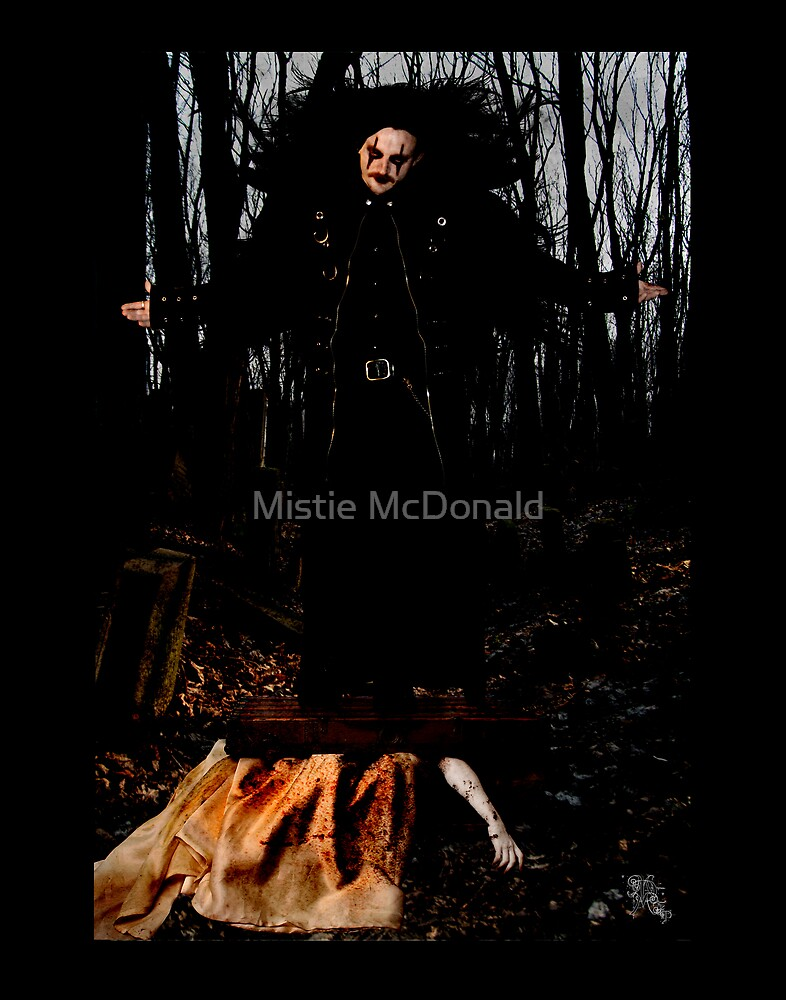 Death Awaits His Reward by Mistie McDonald