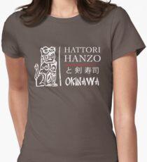 Kill Bill - Hattori Hanzo Ad - White Women's Fitted T-Shirt
