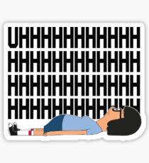 "Tina Belcher ""Uhhh"" Sticker"