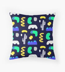 Night in the desert Throw Pillow